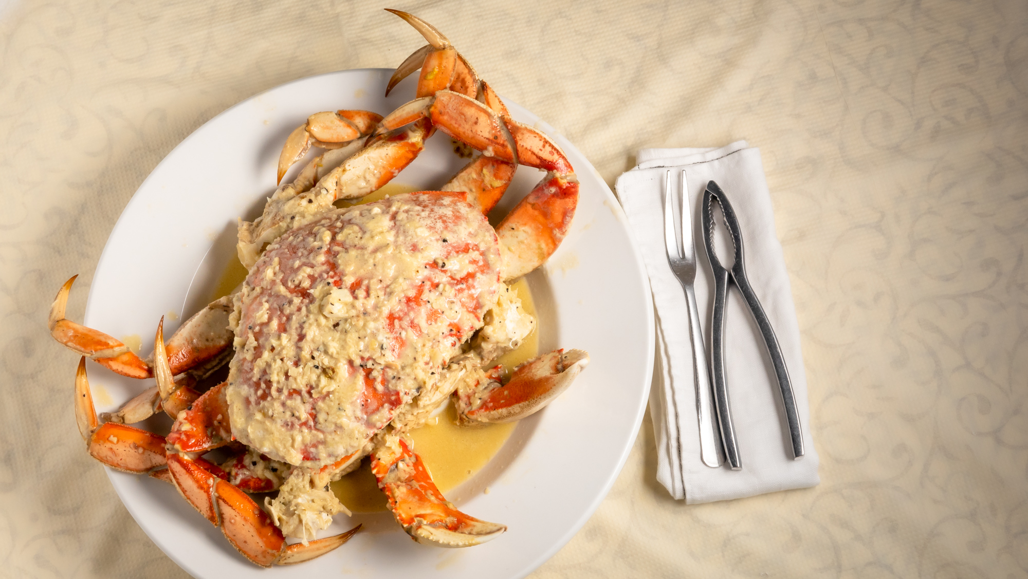 roasted crab