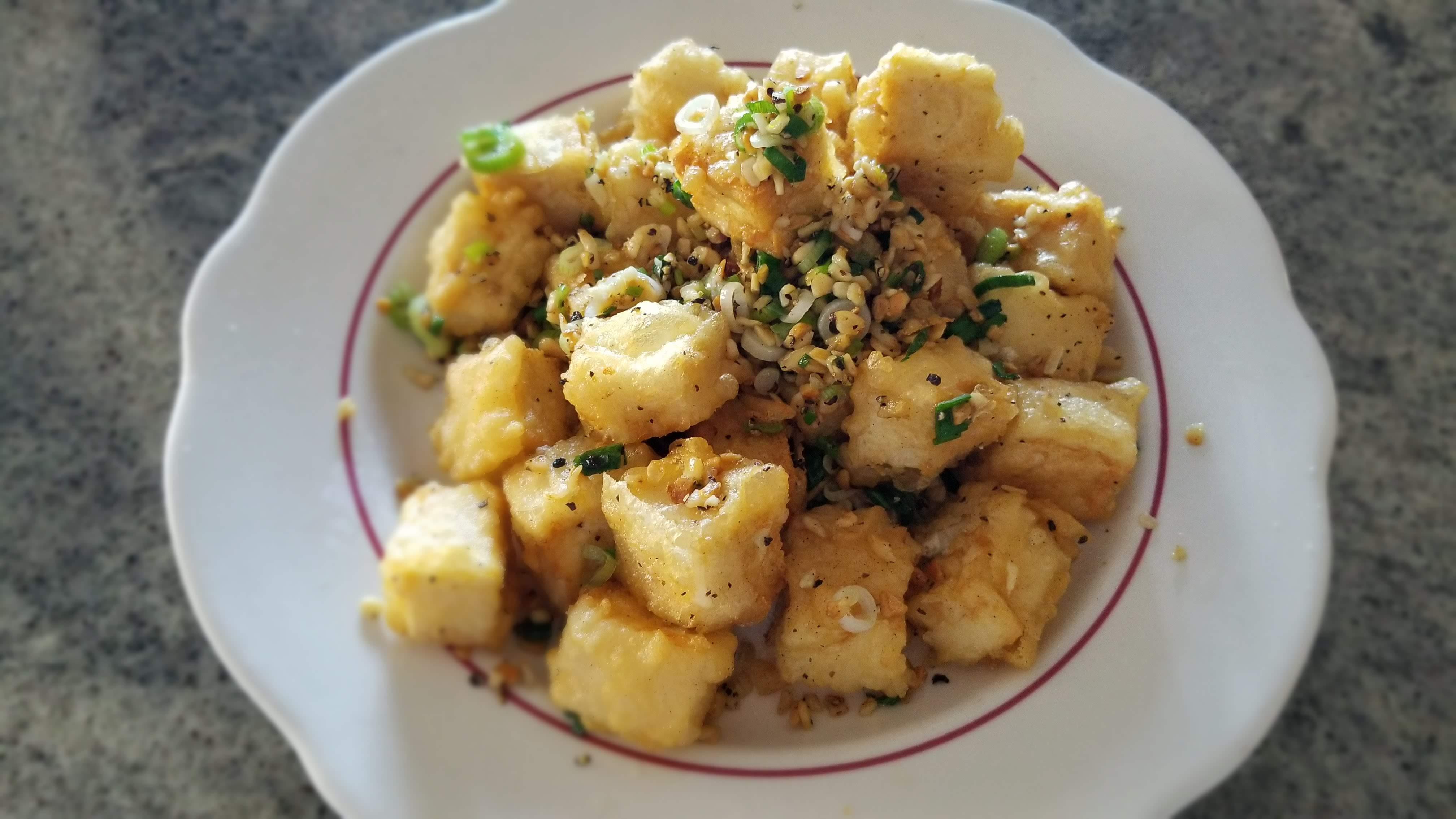 peppercorn tofu