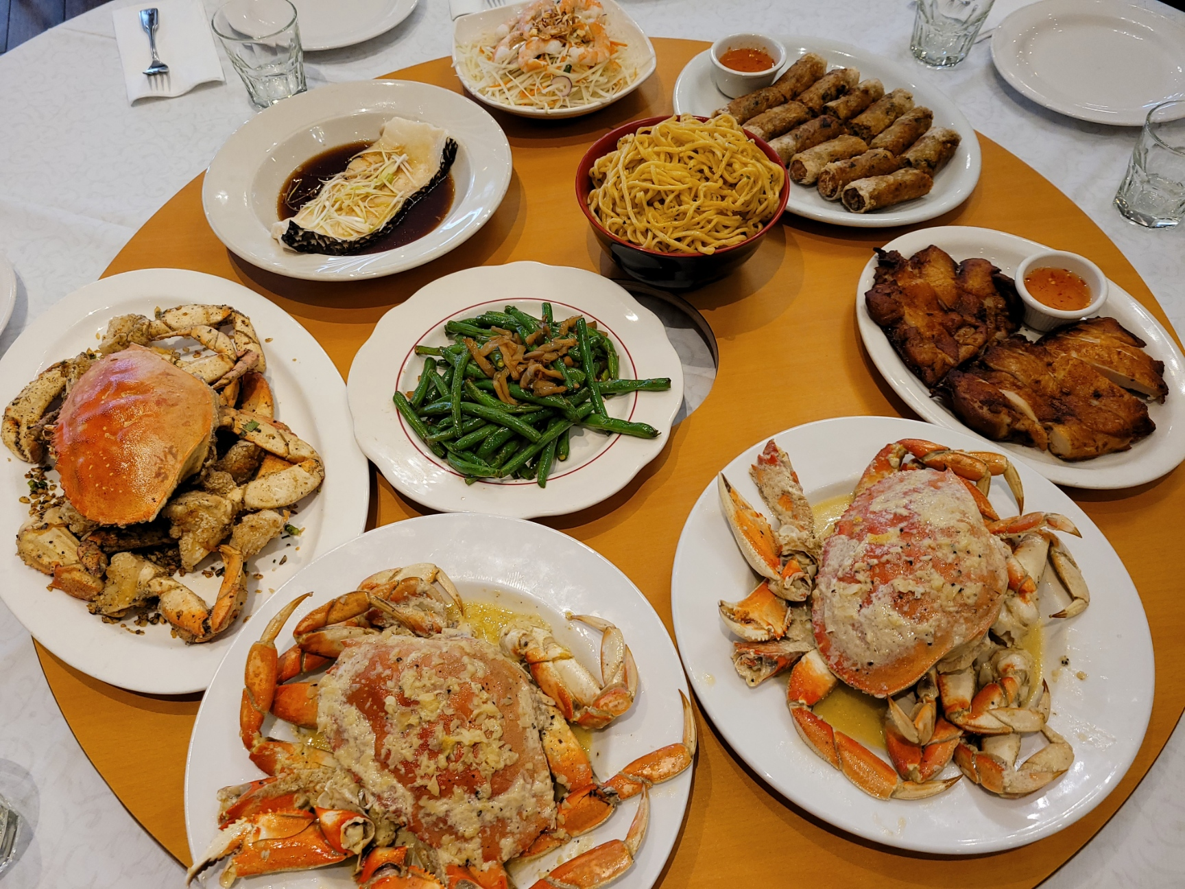 Crab Dinner for 10