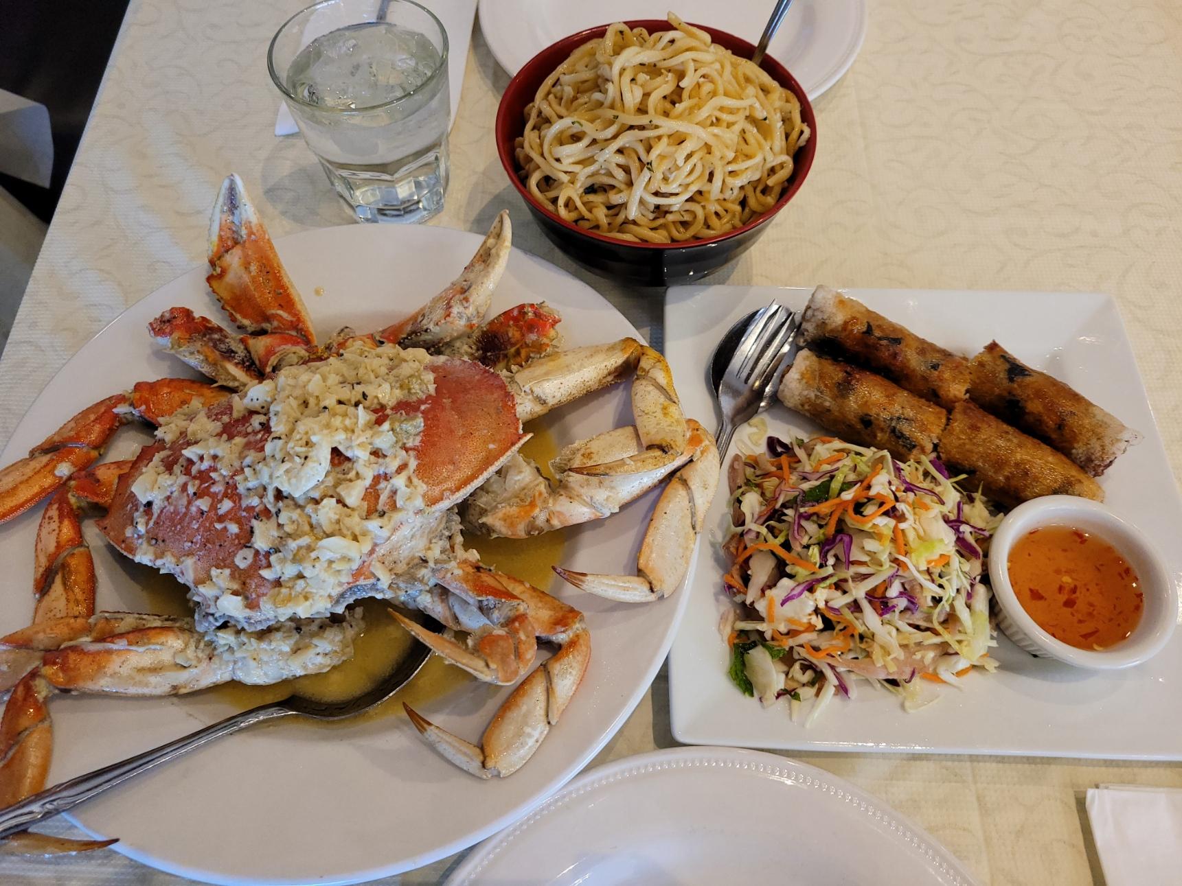 Crab Dinner for 2