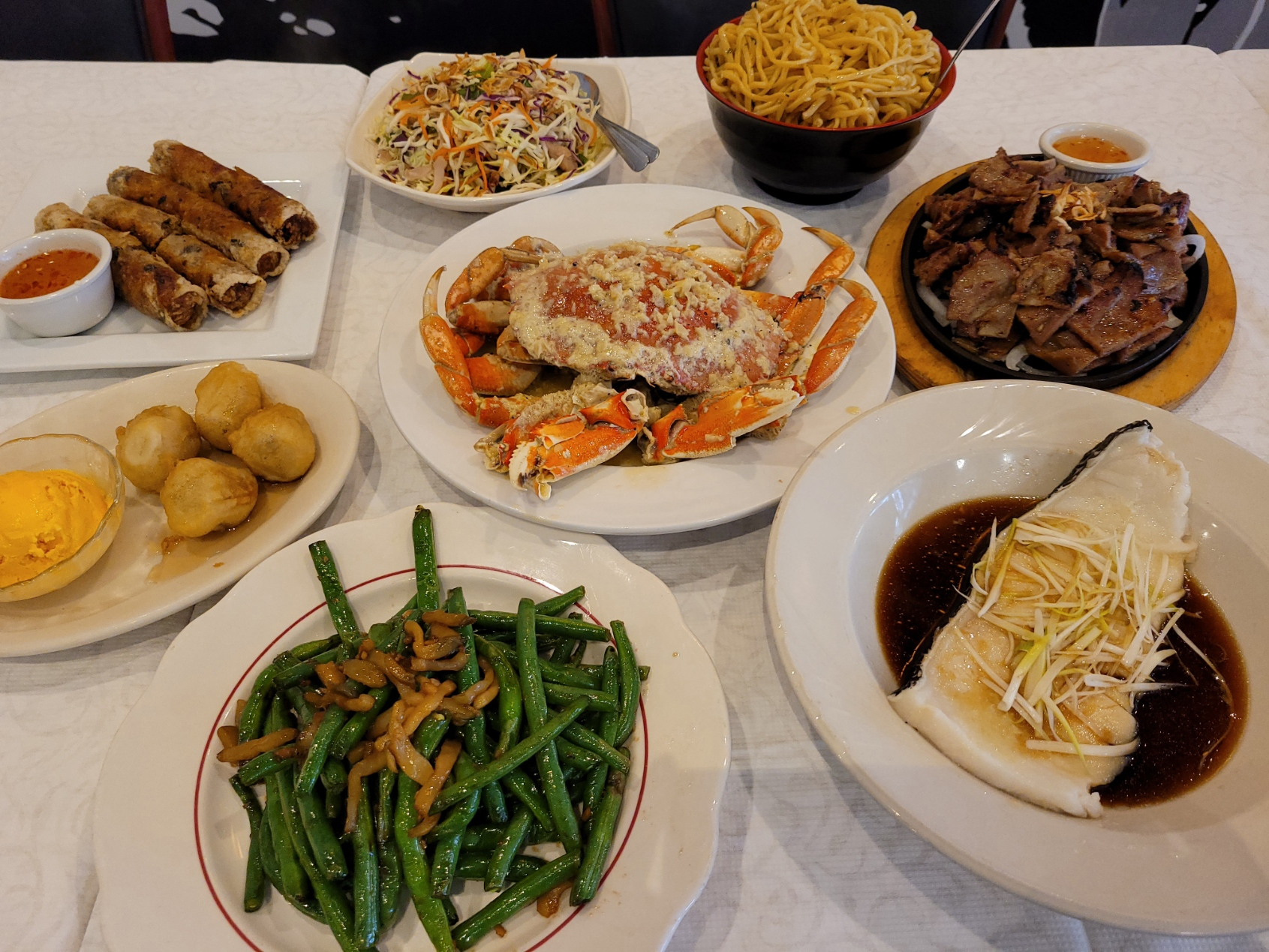 Crab Dinner for 4