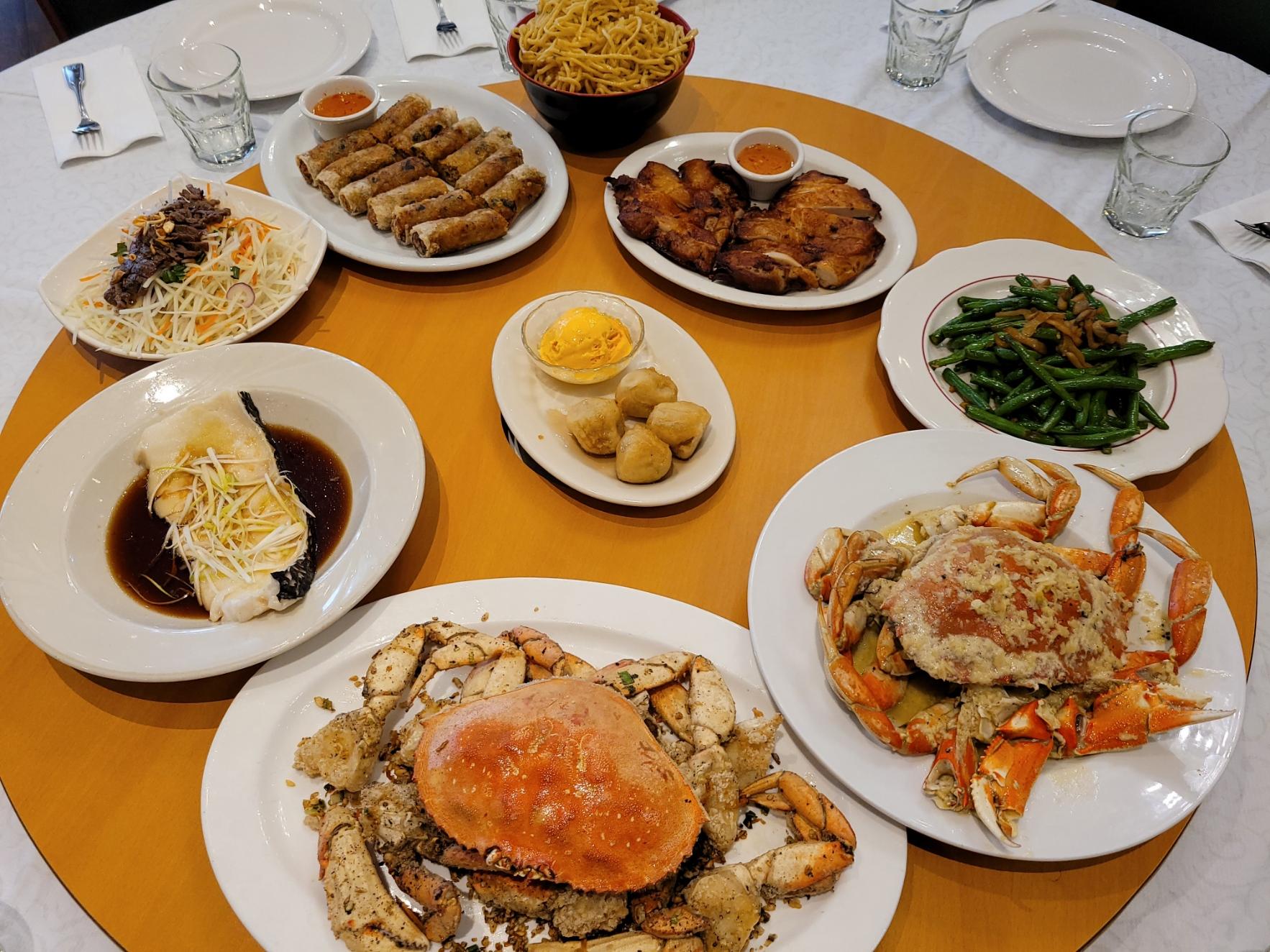 Crab Dinner for 6