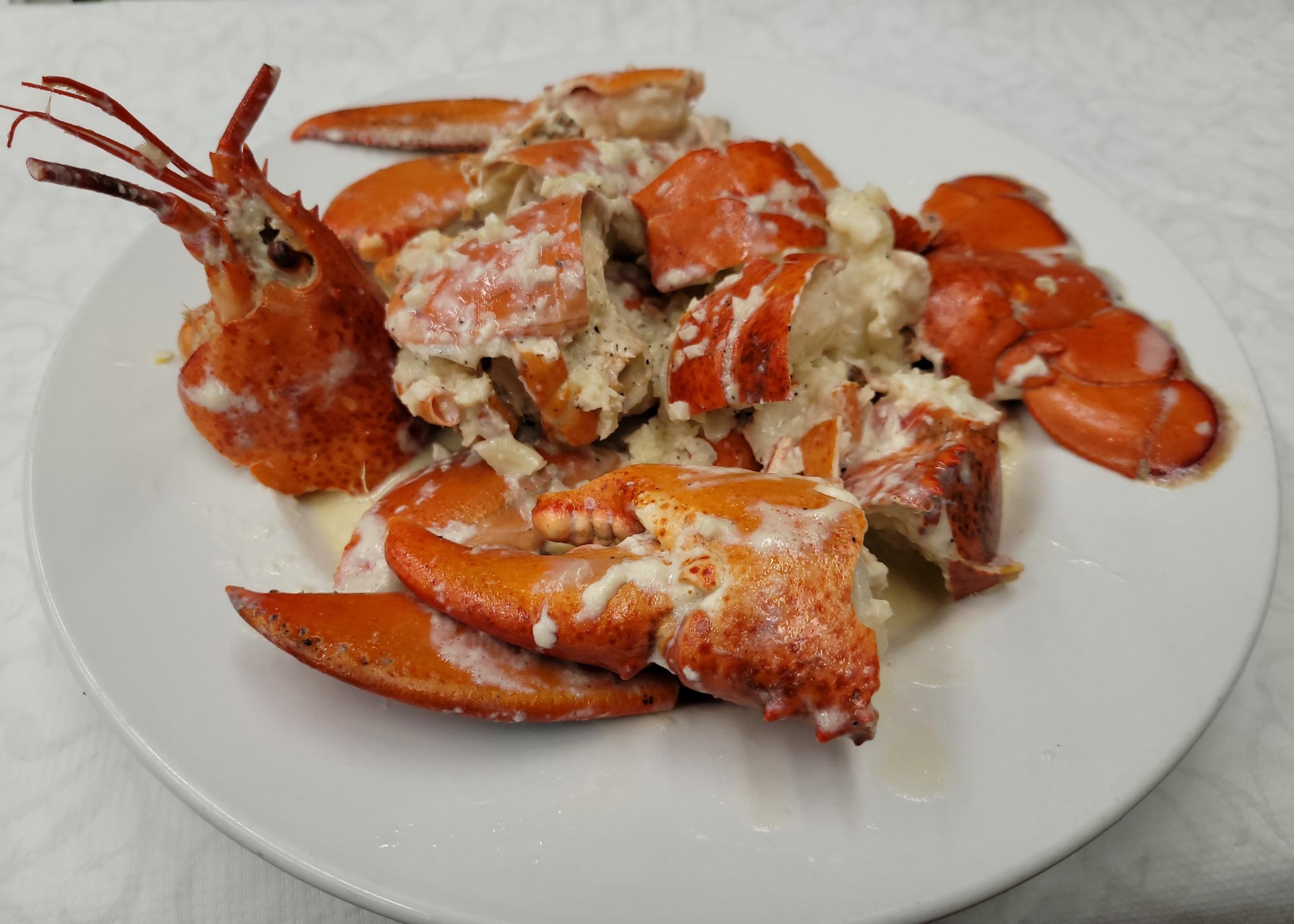 Garlic Butter Roasted Lobster
