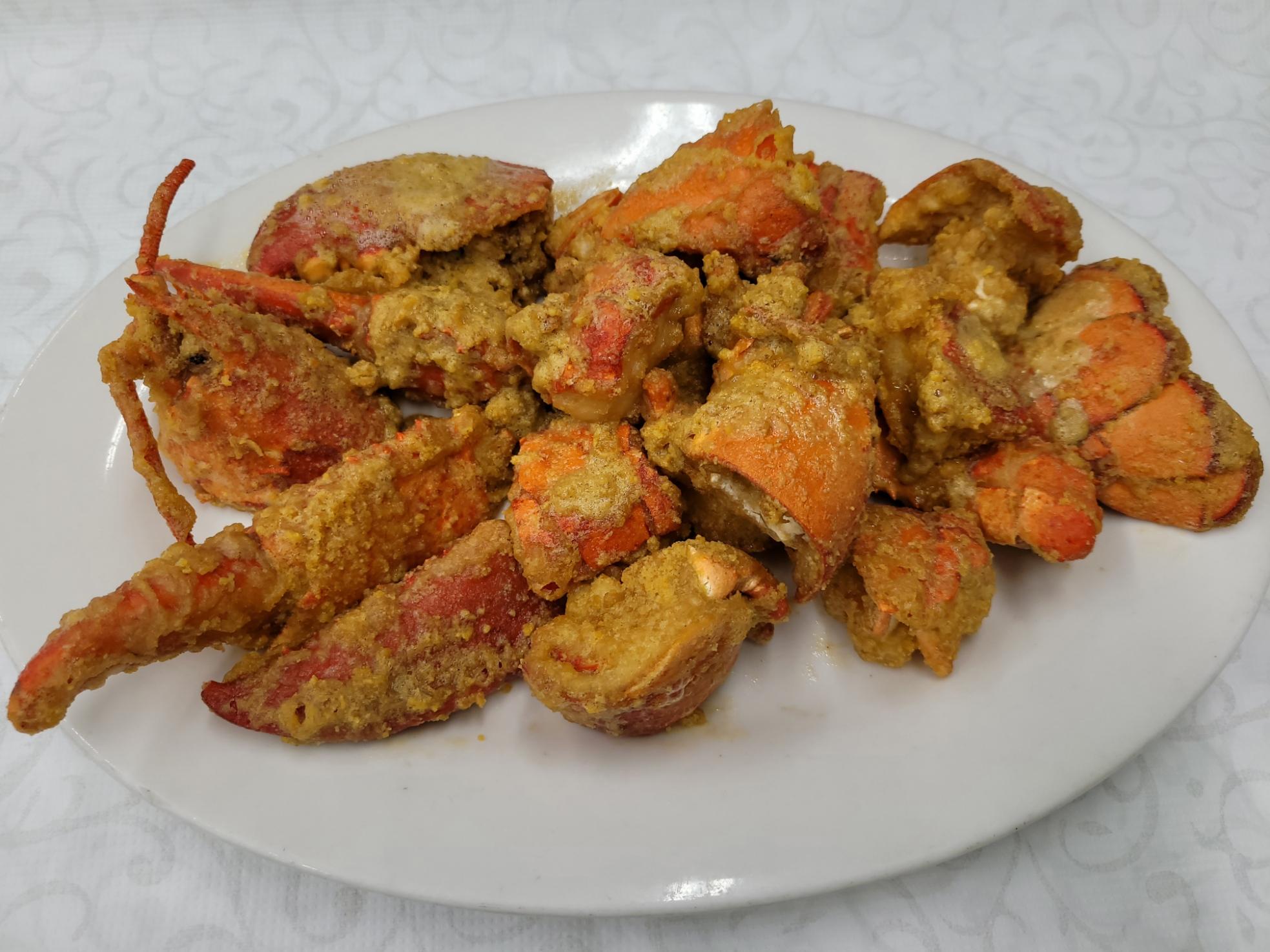 Salted Egg Yolk Lobster