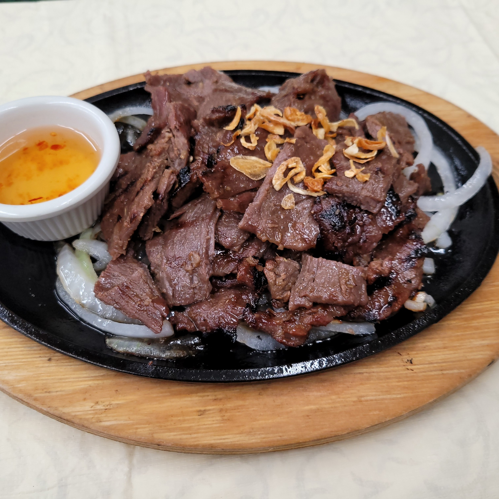 Sizzling Charbroiled Beef