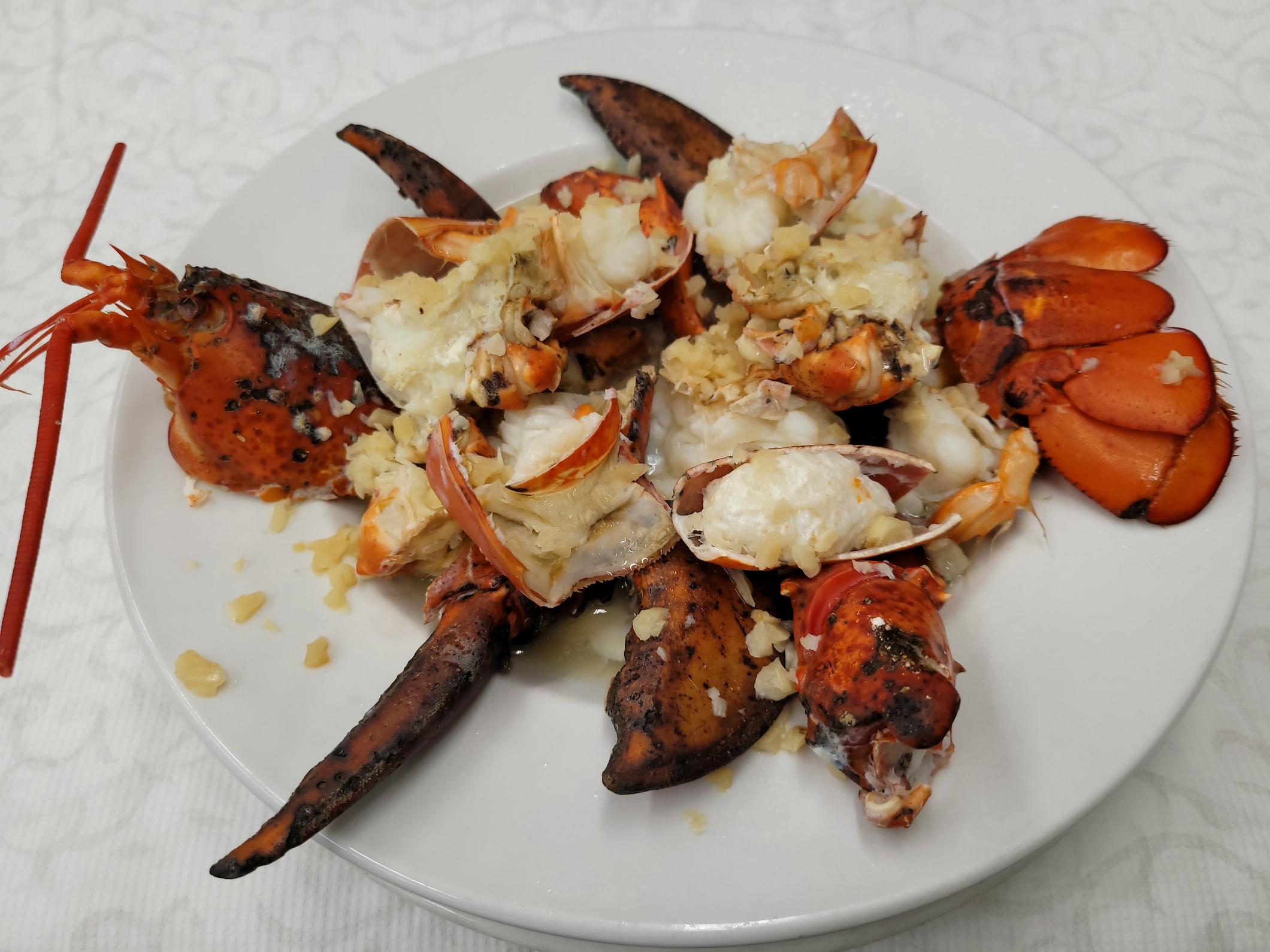 Garlic Steamed Lobster
